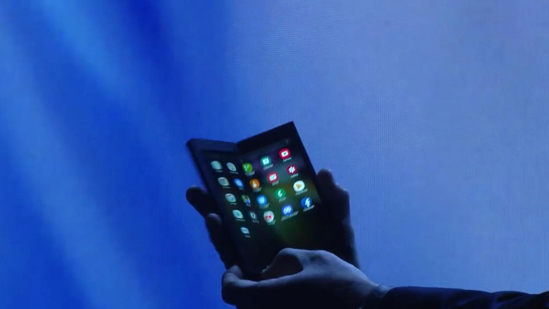 Smartphone pliable haut de gamme